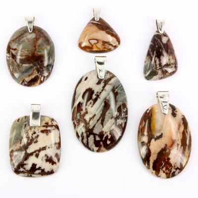 Pendants outback jasper mixed